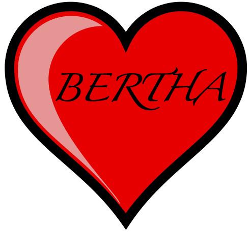 I Heart Bertha