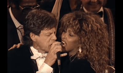 Mick Jagger and Tina Turner hall of fame