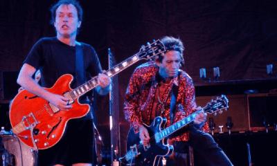 Angus Young and Keith Richards