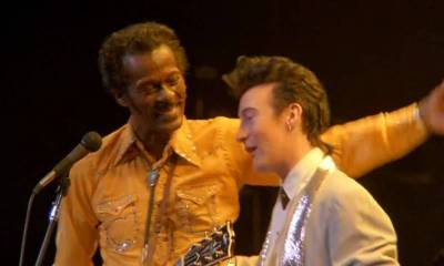 Back In Time: Chuck Berry & Julian Lennon performing Johnny B. Goode