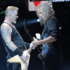 James Hetfield and Kirk Hammett in London