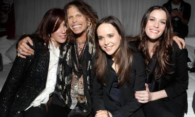 Liv Tyler, Steven Tyler and Ellen Page