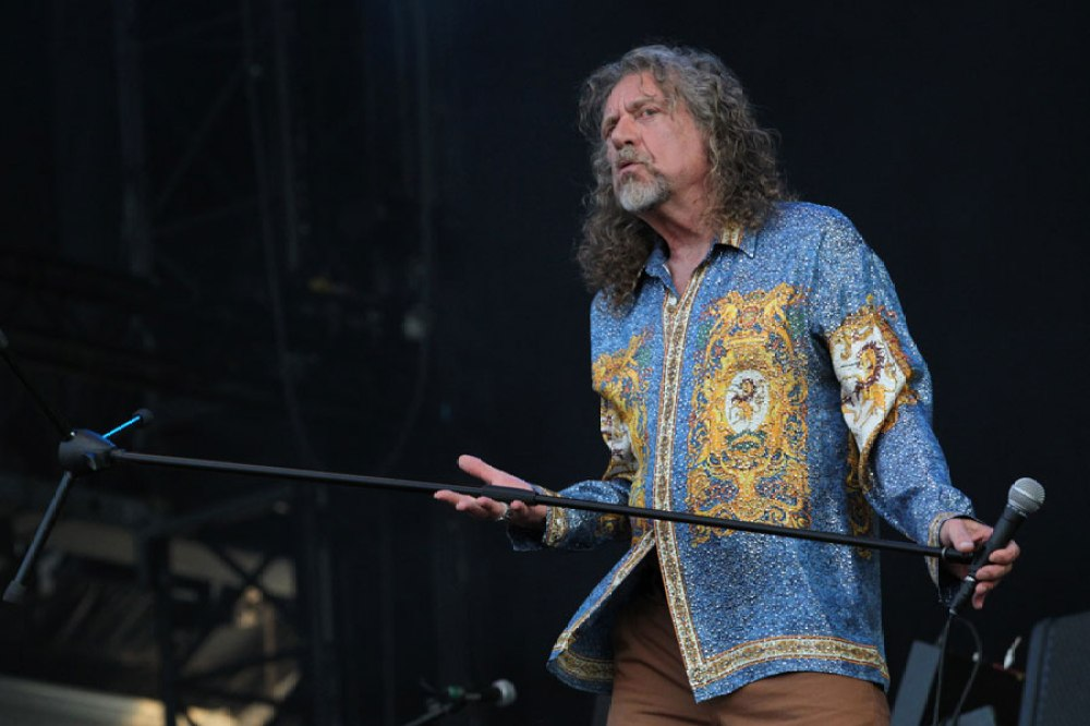 Robert Plant on stage 2017