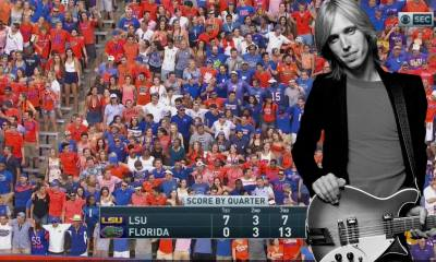 """Watch Florida fans singing Tom Petty's """"I Won't Back Down"""" on the stadium"""