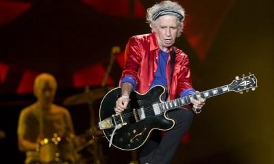 Keith Richards playing