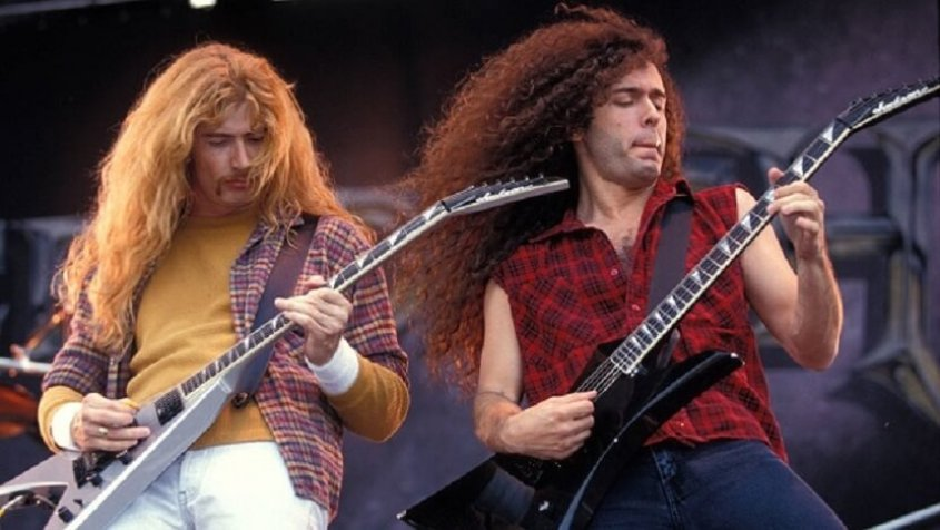 Marty Friedman and Dave Mustaine