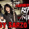 Rudy Sarzo and Nikki Sixx