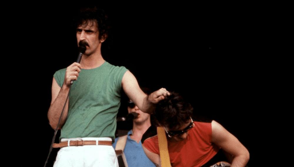Frank Zappa and steve vai