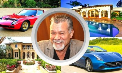 See Eddie Van Halen's net worth, lifestyle, family, house and cars