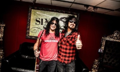 "Watch Slash on Nikki Sixx's ""My Favorite Riff"""