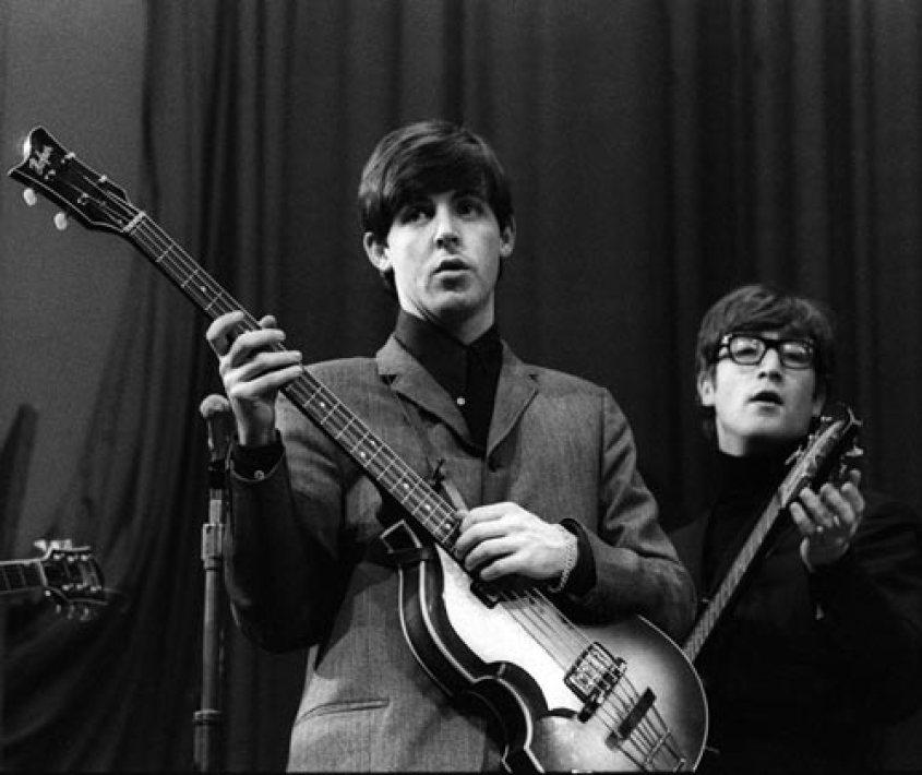 bass paul mccartney in the 60s