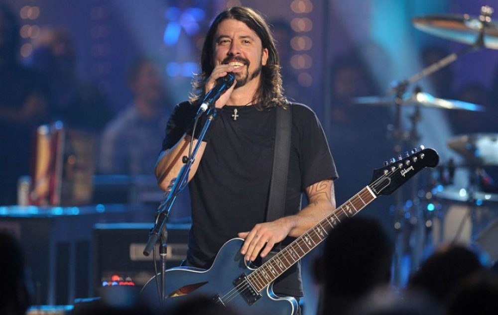 Dave Grohl microphone