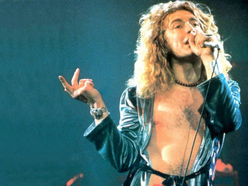Robert Plant hand