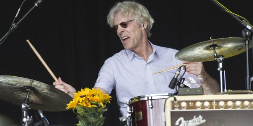Stewart Copeland drumming