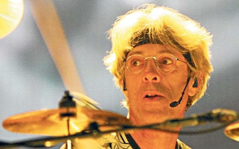 Stewart Copeland face