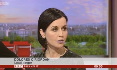 Watch one of the last Dolores O'Riordan appearances on TV