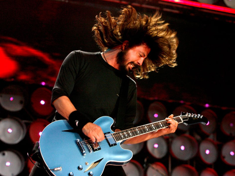 dave grohl banging