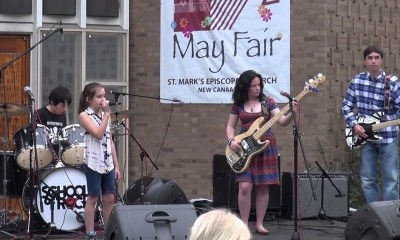Amazing Kids Band performing RUSH