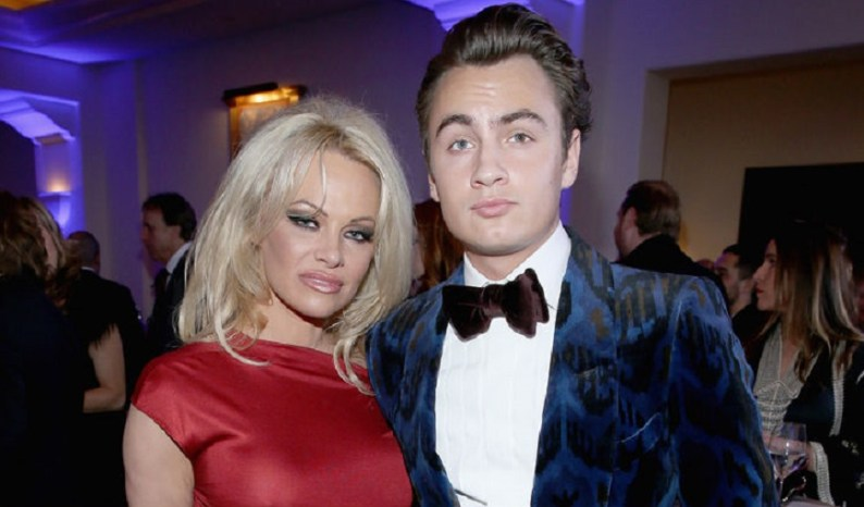 Pamela Anderson and Tommy Lee son