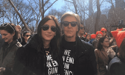 Paul McCartney and wife 2018