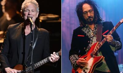 Lindsey Buckingham and Mike Campbell