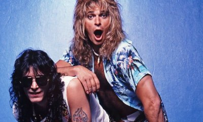 Steve Vai and David Lee Roth