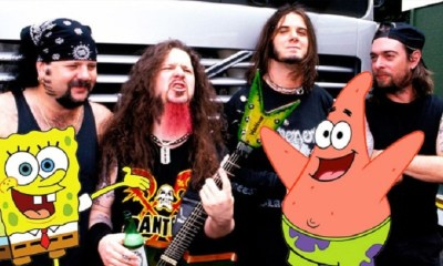 Pantera and Spongebob