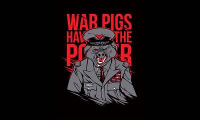Black Sabbath War Pigs art