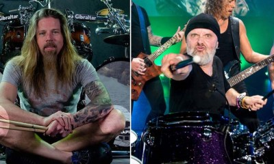 Chris Adler and Lars Ulrich