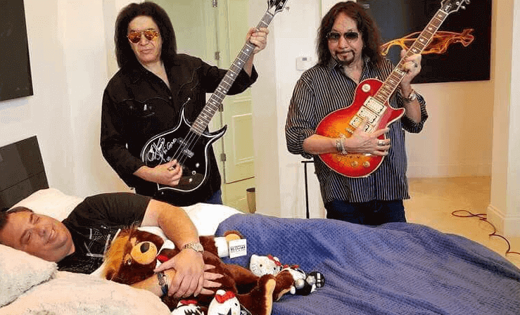 Gene Simmons and Ace Frehley vault