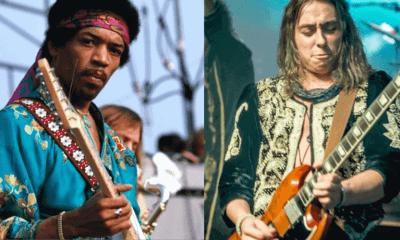 Jimi Hendrix and Jake Kiska