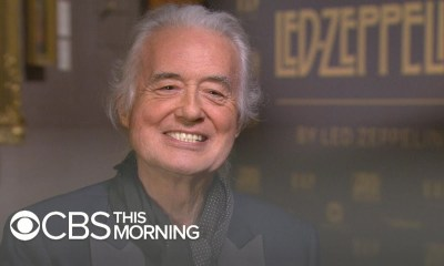 Jimmy Page on CBS