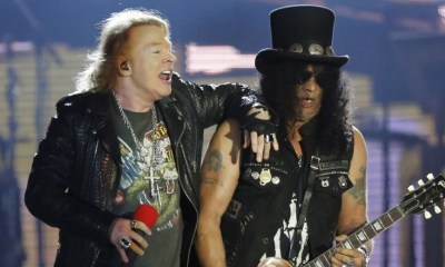 Axl and Slash