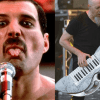 Freddie Mercury and Jordan Rudess