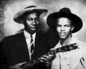 Blues Legend Robert Johnson with Johnny Shines