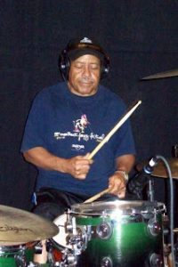 calep emphrey, drummer for all three blues kings