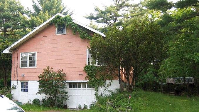 Big Pink House Bob Dylan Band