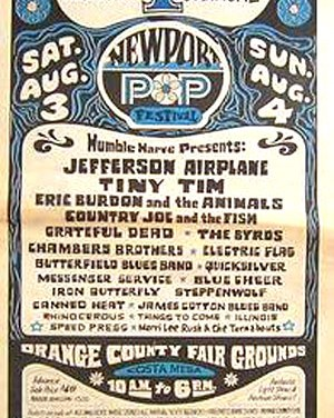 Orange  County Fairgrounds – 1968 Newport Pop Festival