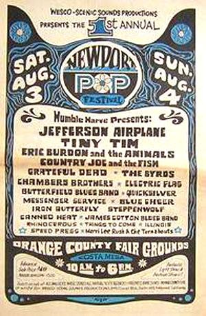 1968 Newport Pop Festival