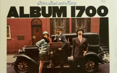 Album 1700 by Peter, Paul and Mary Album Cover Location In New York