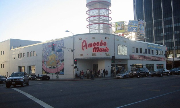 Amoeba Music On Sunset Boulevard In Los Angeles