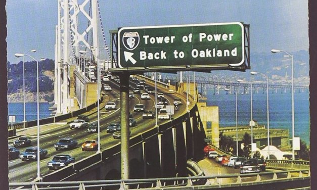 """Back To Oakland"" By Tower of Power Album Cover Location"