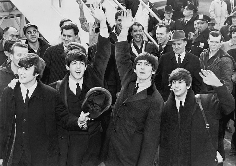 Beatles at John F. Kennedy International Airport