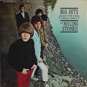 """Big Hits"" by The Rolling Stones & ""Sounds Of Silence"" by Simon and Garfunkel Album Cover Location"