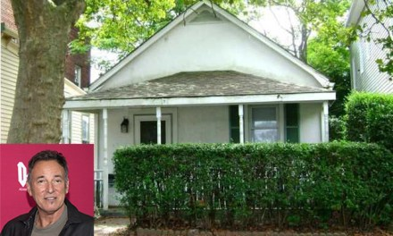 "Bruce Springsteen's Long Branch Home Where He Wrote ""Born To Run"""
