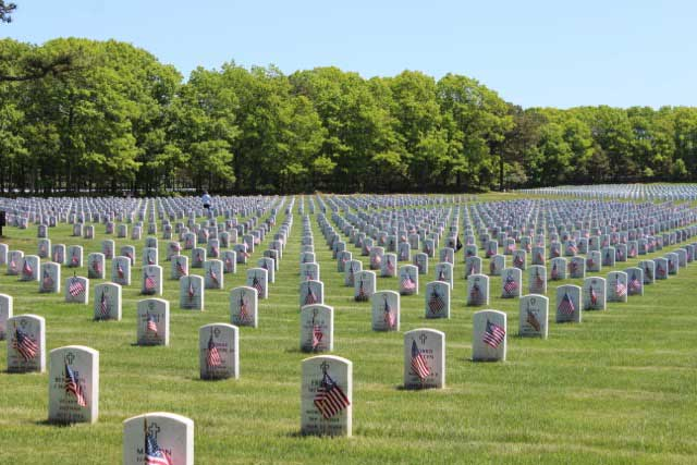Calverton National Cemetery