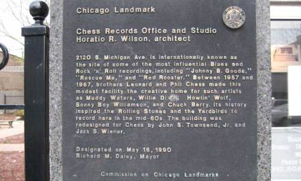 Chess Records Office And Studio –  Muddy Waters, Chuck Berry And Willie Dixon Recorded Here