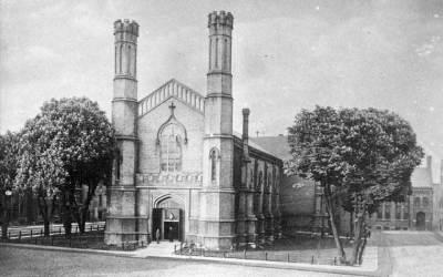 Church of the Holy Trinity In Toronto Ontario, Canada