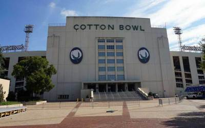 The Cotton Bowl Stadium – First Crossroads Guitar Festival Held Here