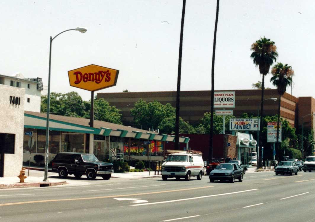 Denny's on Sunset